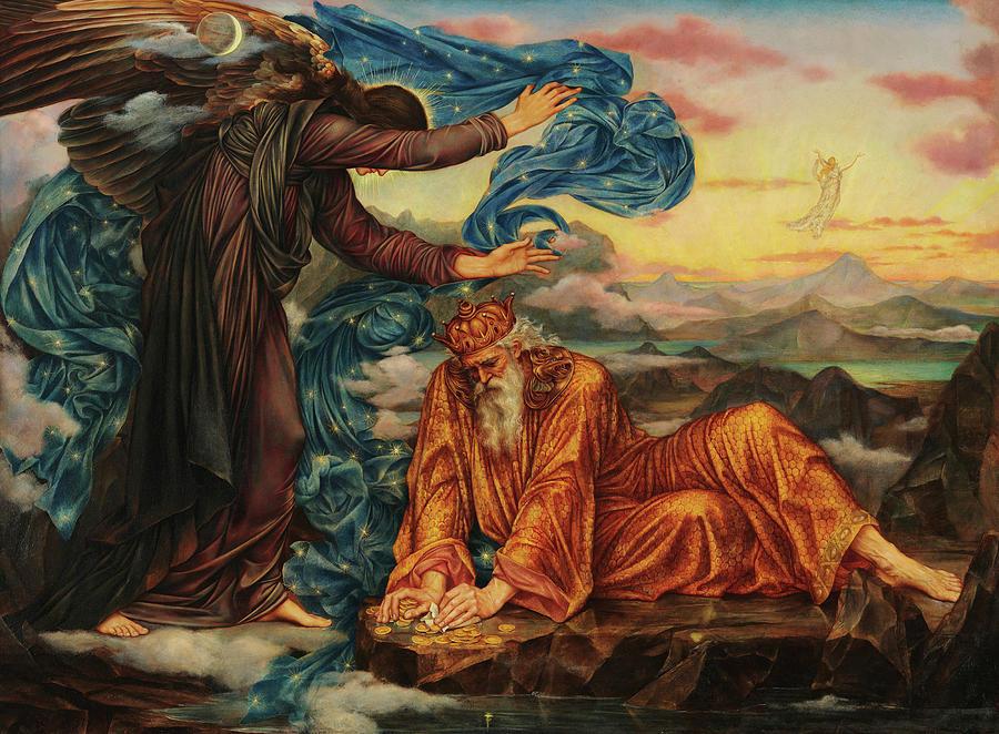 Evelyn De Morgan Painting - Earthbound, 1897 by Evelyn De Morgan