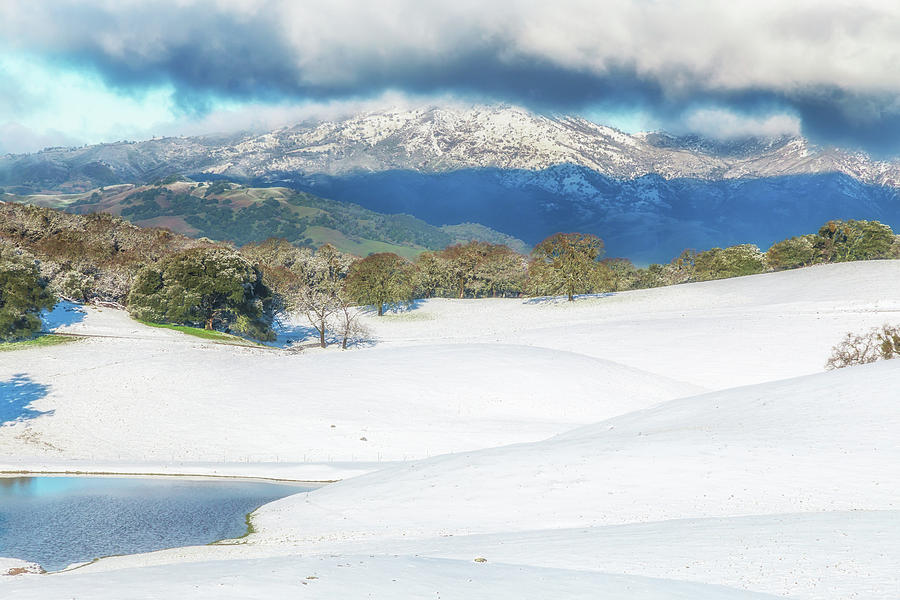 East Bay Snow by Marc Crumpler