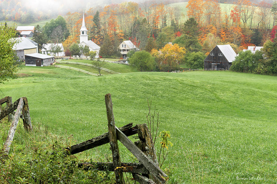 East Corinth Vermont by T-S Photo Art