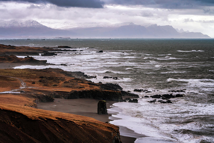 Iceland Photograph - East Fjords by Framing Places