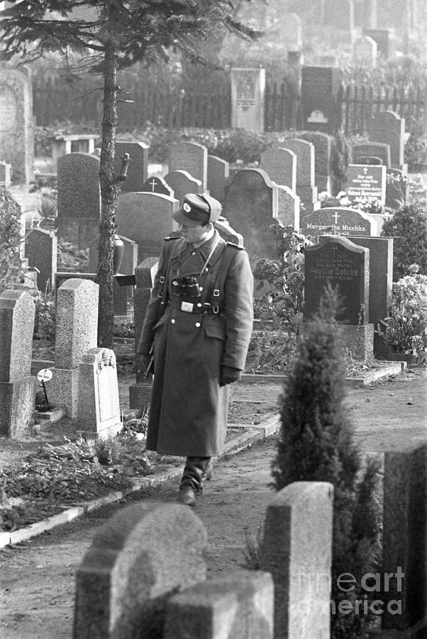 East German Guard Photograph by Bettmann