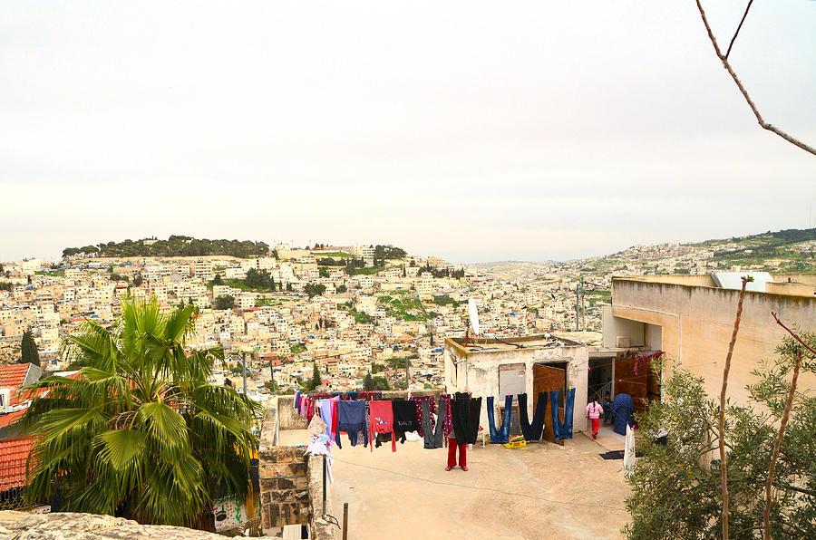 East Jerusalem - View of Silwan by Alex Vishnevsky