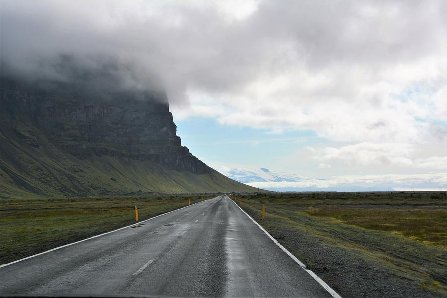 Iceland Photograph - East On One by Norman Burnham