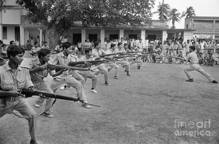 East Pakistan Rifle Soldiers Photograph by Bettmann