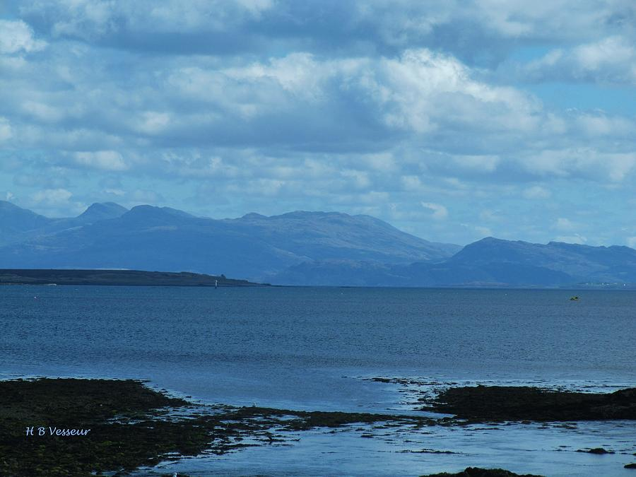 Nature Photograph - East Shores Of Isle Of Skye by B Vesseur