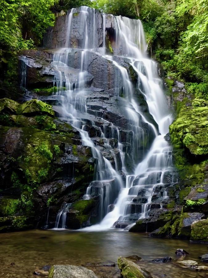Eastatoe Falls by Kelly Kennon