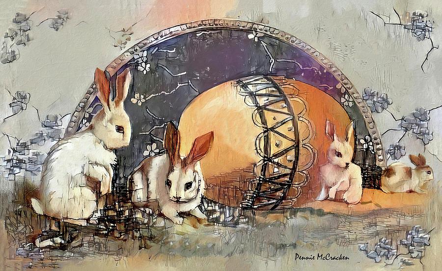 Easter Bunnies by Pennie McCracken