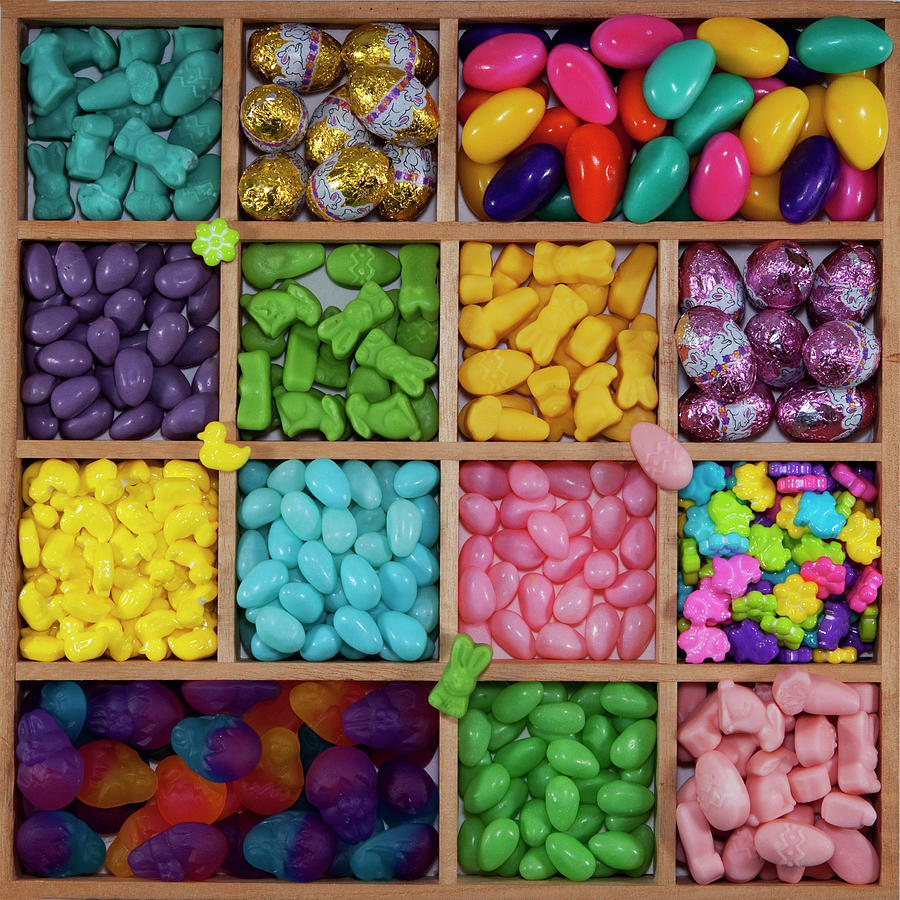 Easter Candies Photograph by Lisa Stokes