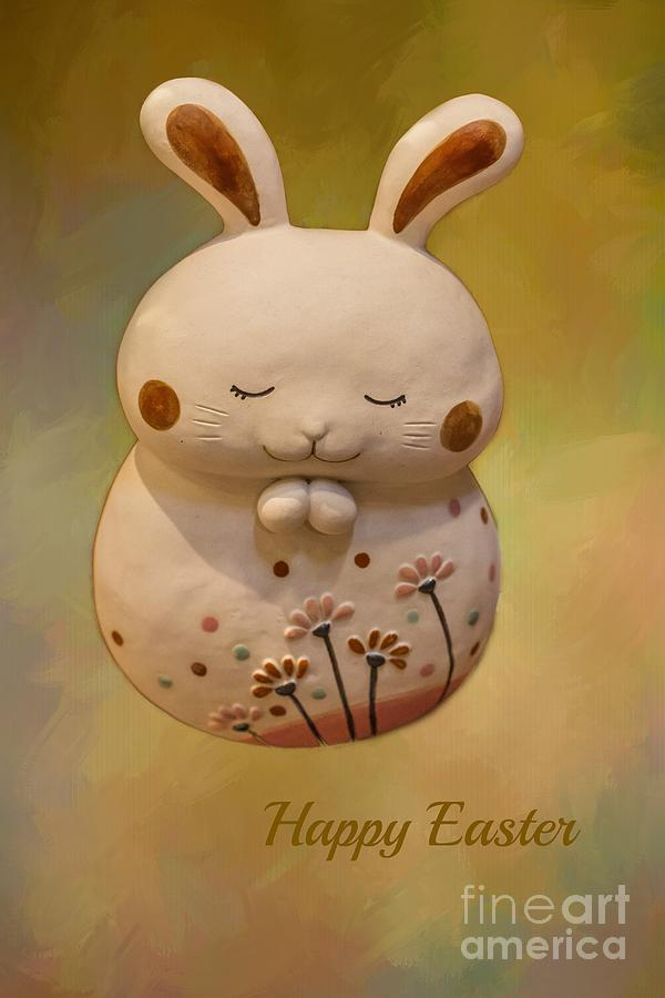 Easter Greeting Card by Eva Lechner