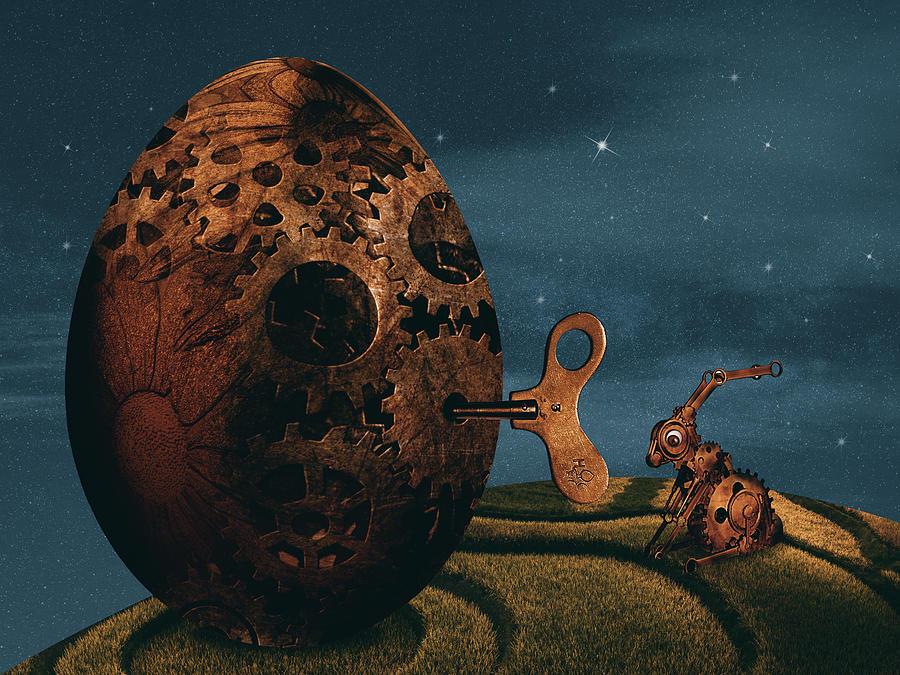Easter Digital Art
