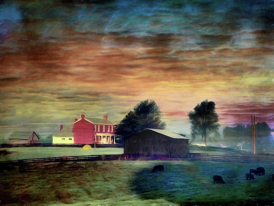Eastern Kentucky Farm by Jack Wilson