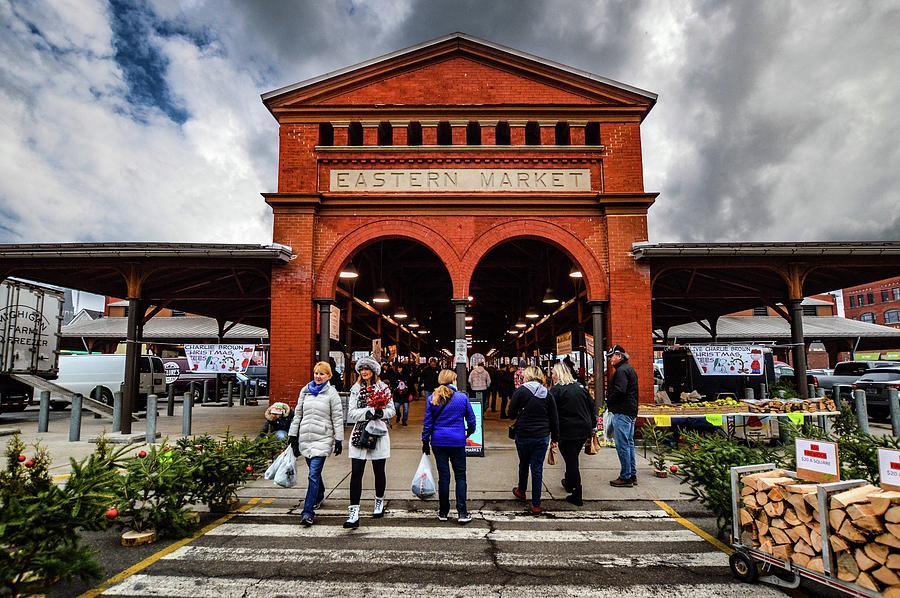 Eastern Market Entrance DSC_1140 by Michael Thomas