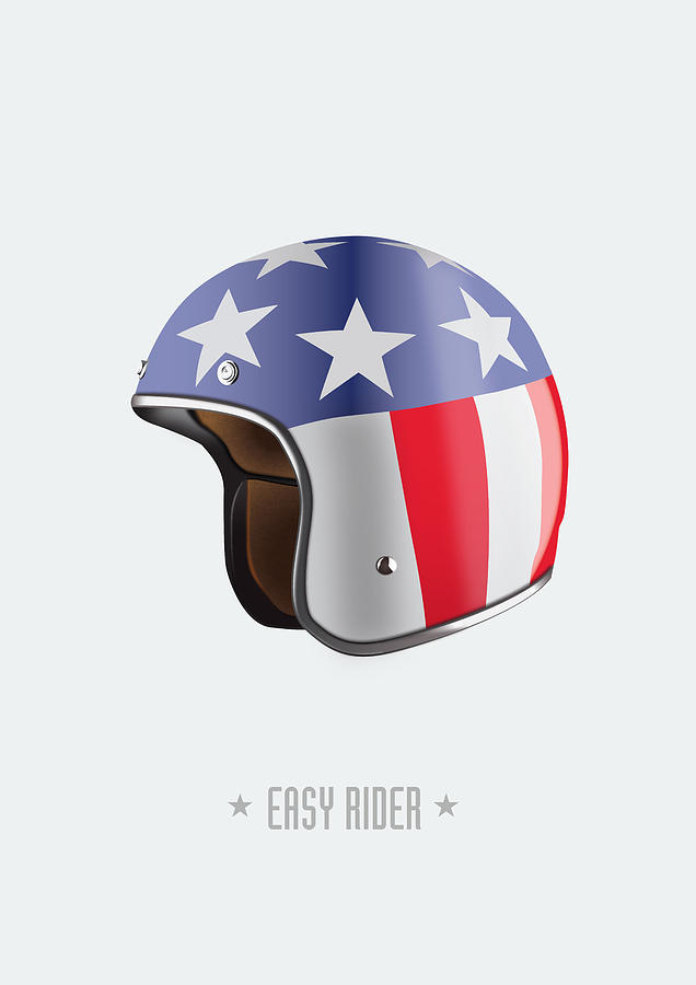 Easy Rider Digital Art - Easy Rider - Alternative Movie Poster by Movie Poster Boy