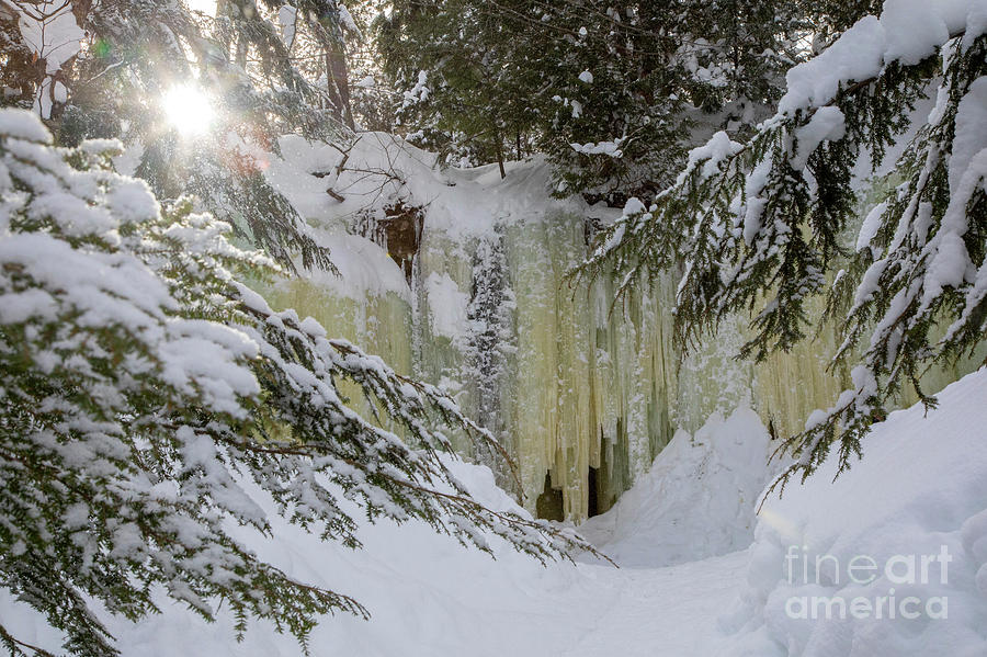 Eben Ice Caves by Jim West