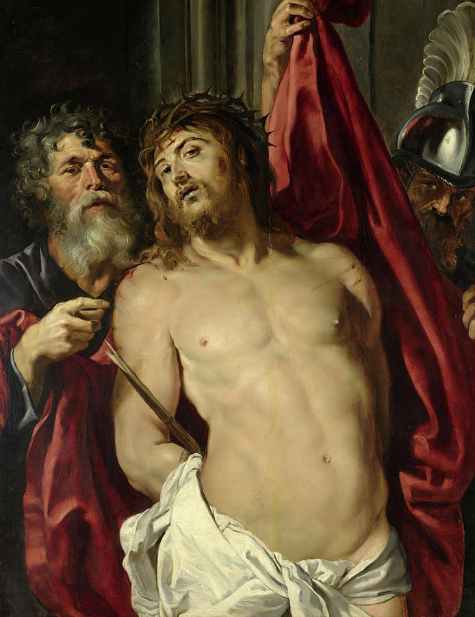 Peter Paul Rubens Painting - Ecce Homo, 1857 by Peter Paul Rubens