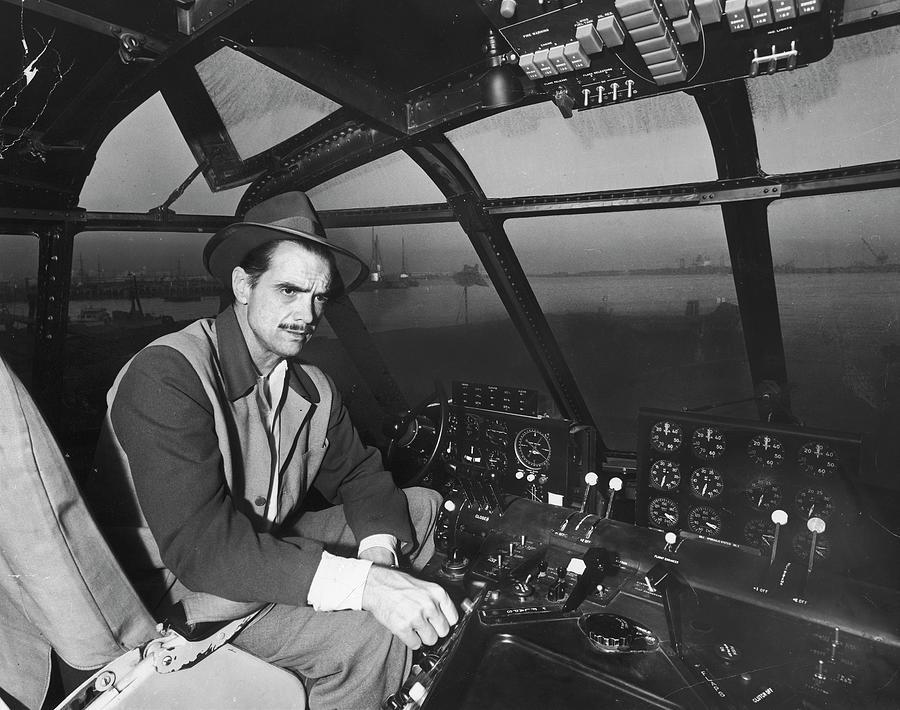 Eccentric Millionaire Howard Hughes Photograph by J. R. Eyerman
