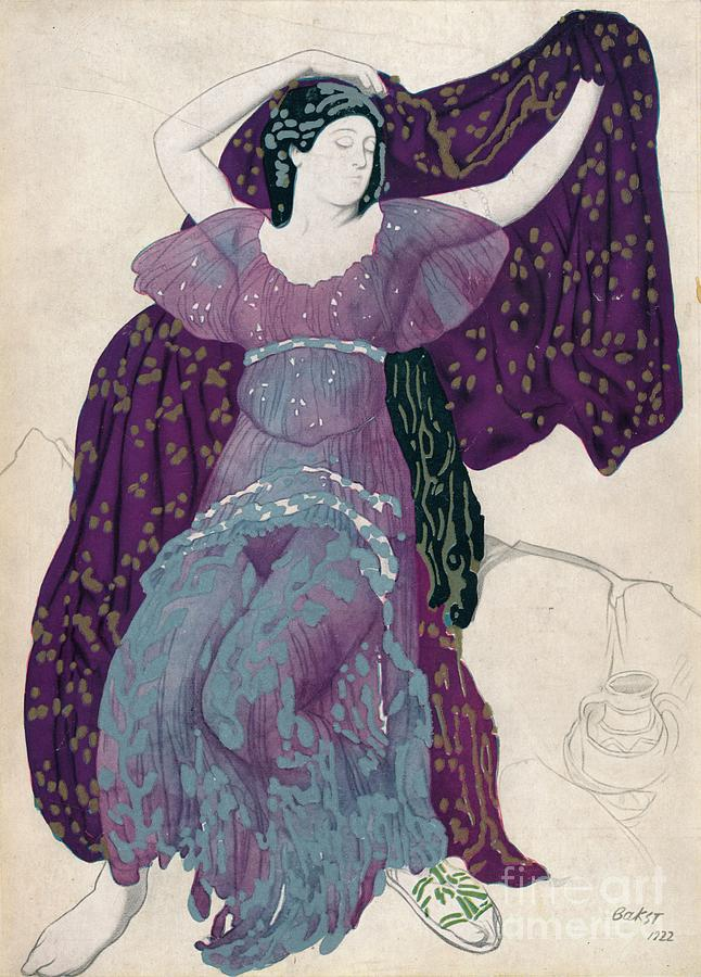 Echo Abandonée, 1922, 1923 Drawing by Print Collector