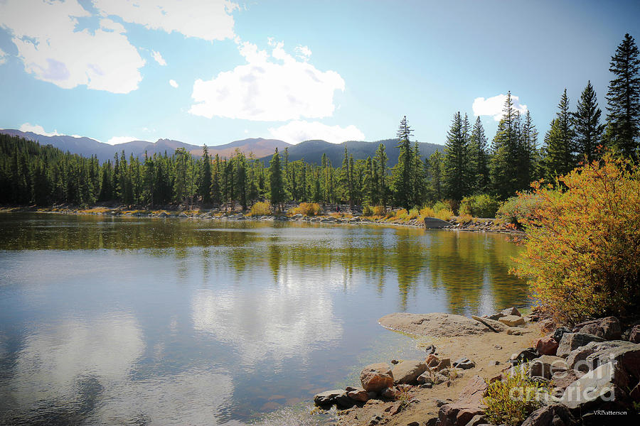 Echo Lake Mt Evans by Veronica Batterson