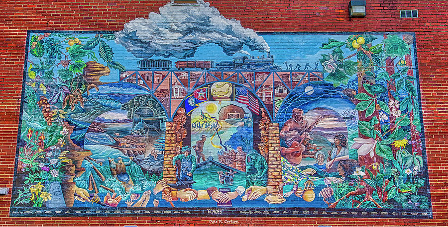 Echoes Mural by Dale R Carlson