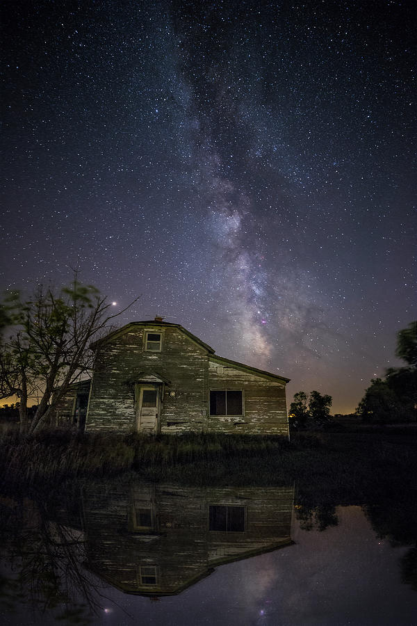Milky Way Photograph - Echoes Of The Past  by Aaron J Groen