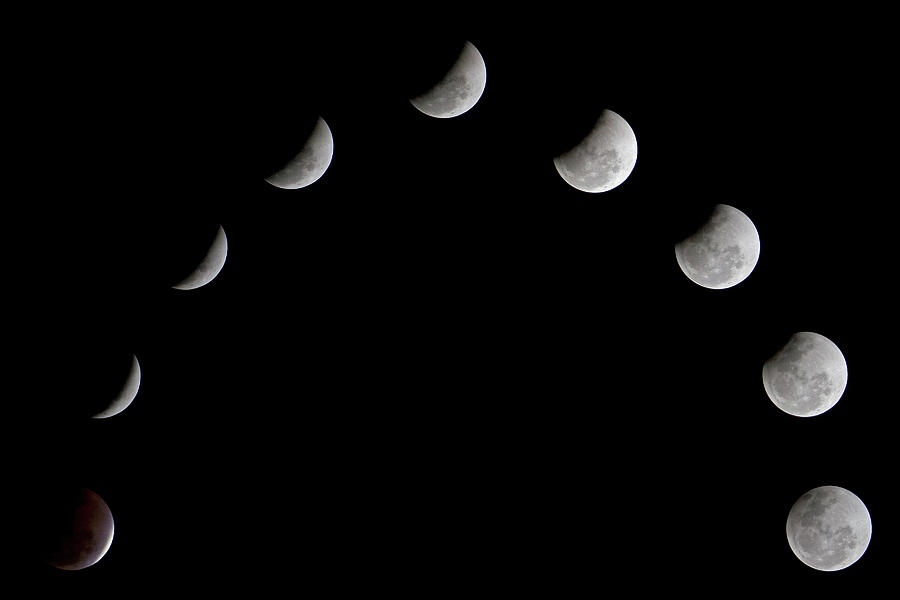Eclipse Photograph by Amith Nag Photography
