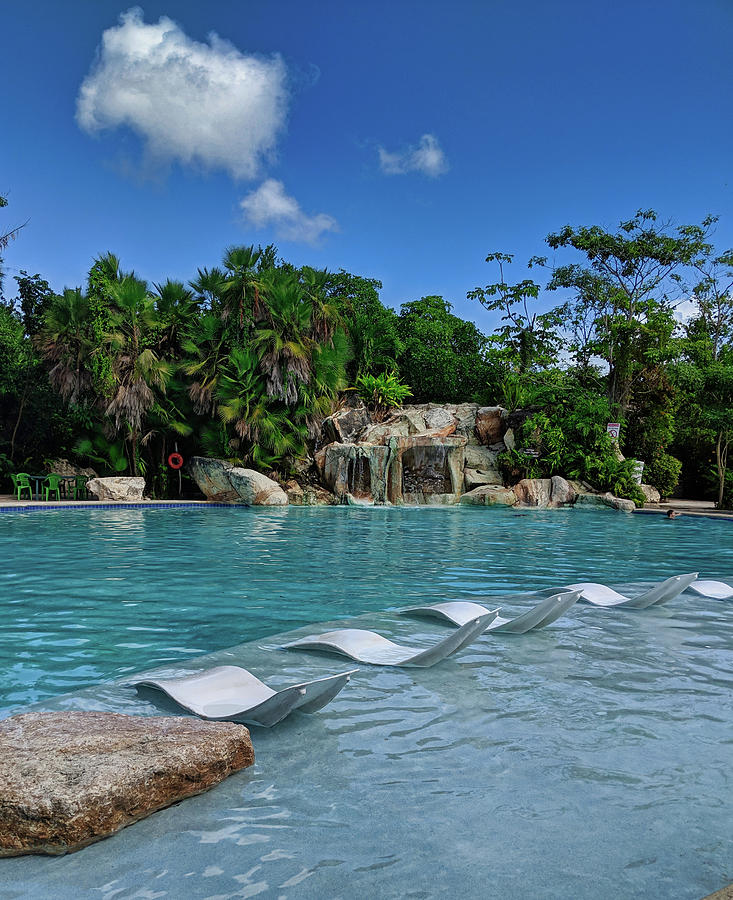 EcoPark Pool in Belize by Portia Olaughlin