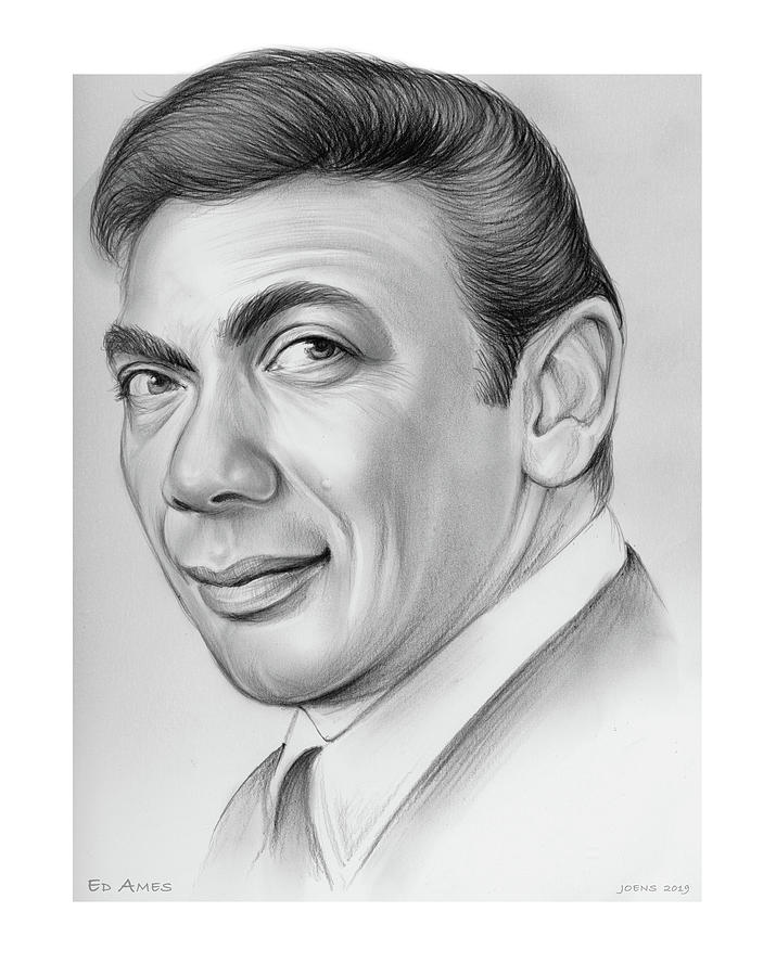 Ed Ames Drawing
