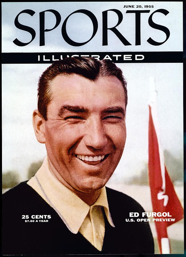 Ed Furgol, Golf Sports Illustrated Cover Photograph by Sports Illustrated