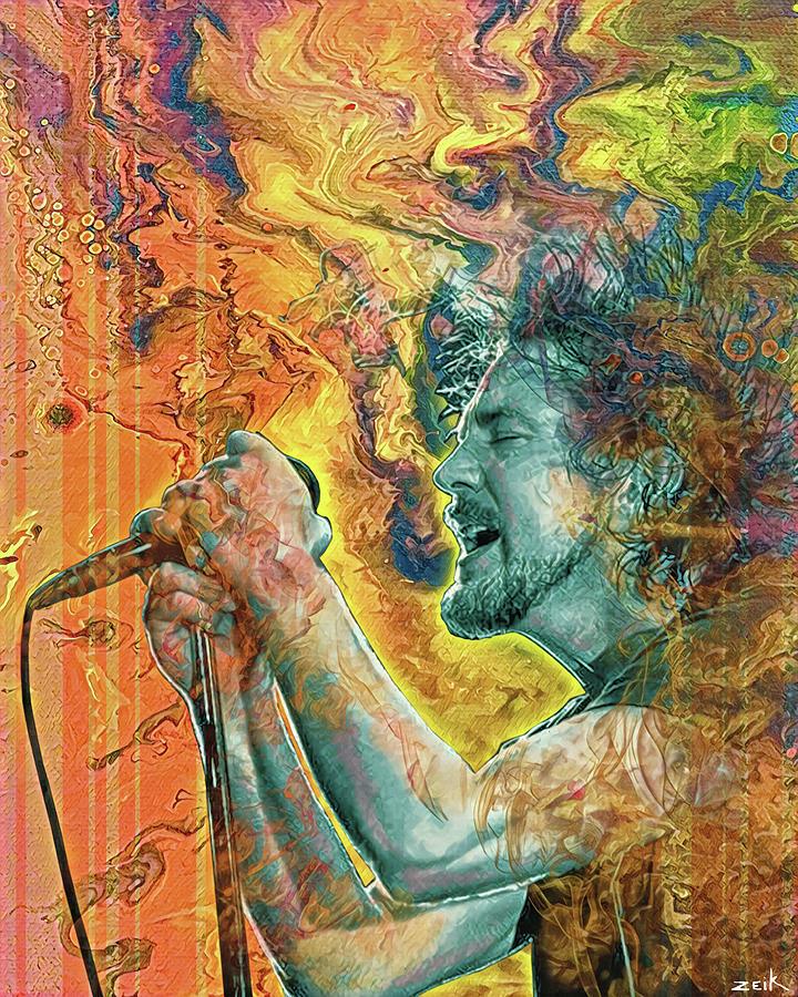Limited Edition Painting - Eddie Vedder - Better Man by Bobby Zeik