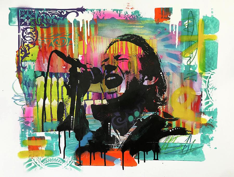 Eddie Vedder by Dean Russo Art