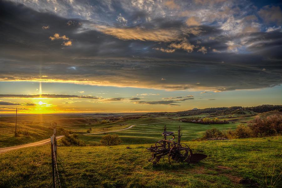 Eden at Sunrise by Fiskr Larsen