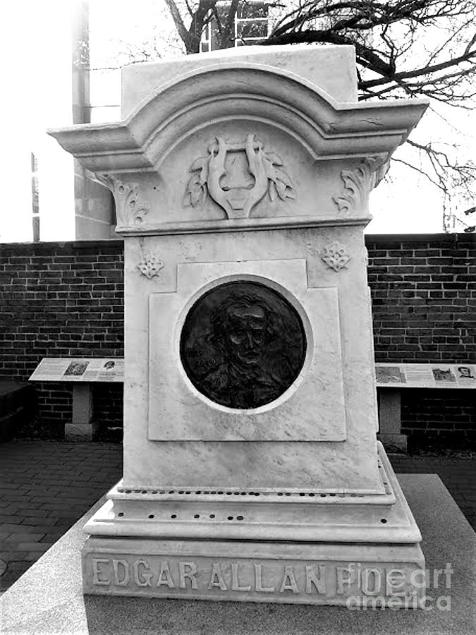 Edgar Allen Poe Gravesite, Baltimore, Maryland by Inscape Art Photography