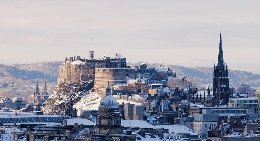 Edinburgh Castle Photograph by Davidhills
