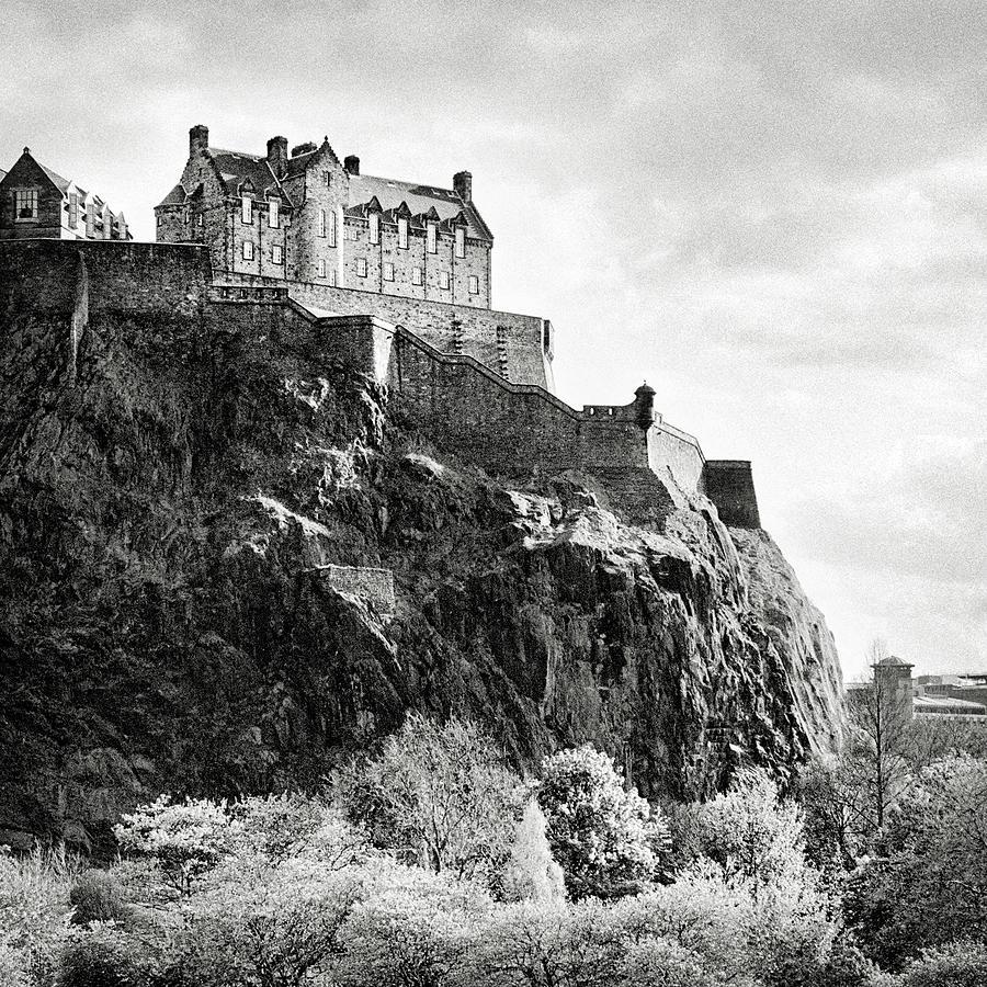 Edinburgh Castle Photograph by Jmimages
