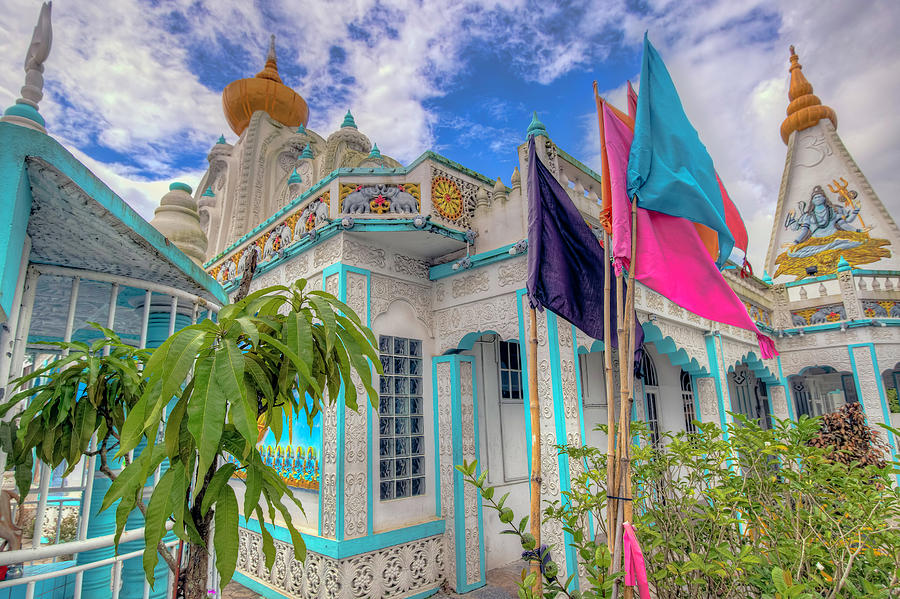 Edinburgh Hindu Temple Trinidad by Nadia Sanowar