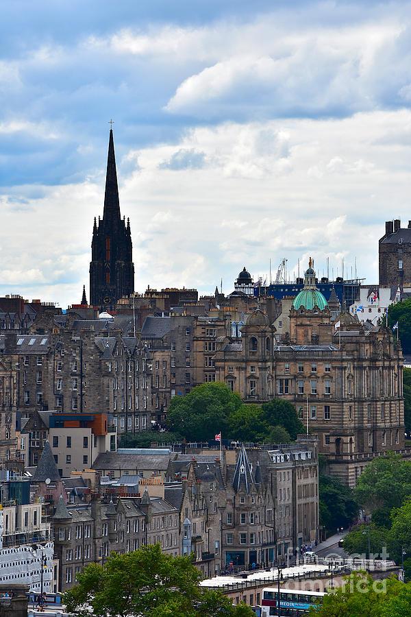 Edinburgh Old Town by Yvonne Johnstone