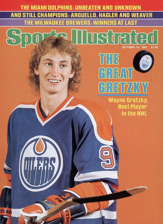 Edmonton Oilers Wayne Gretzky Sports Illustrated Cover Photograph by Sports Illustrated
