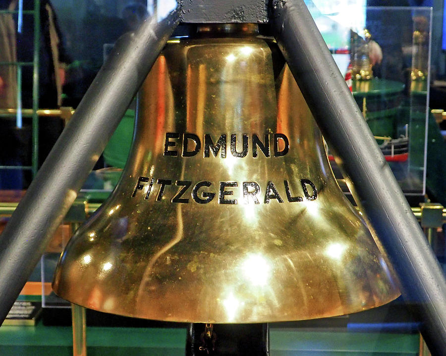 Edmund Fitzgerald Ship's Bell by Bill Swartwout Photography