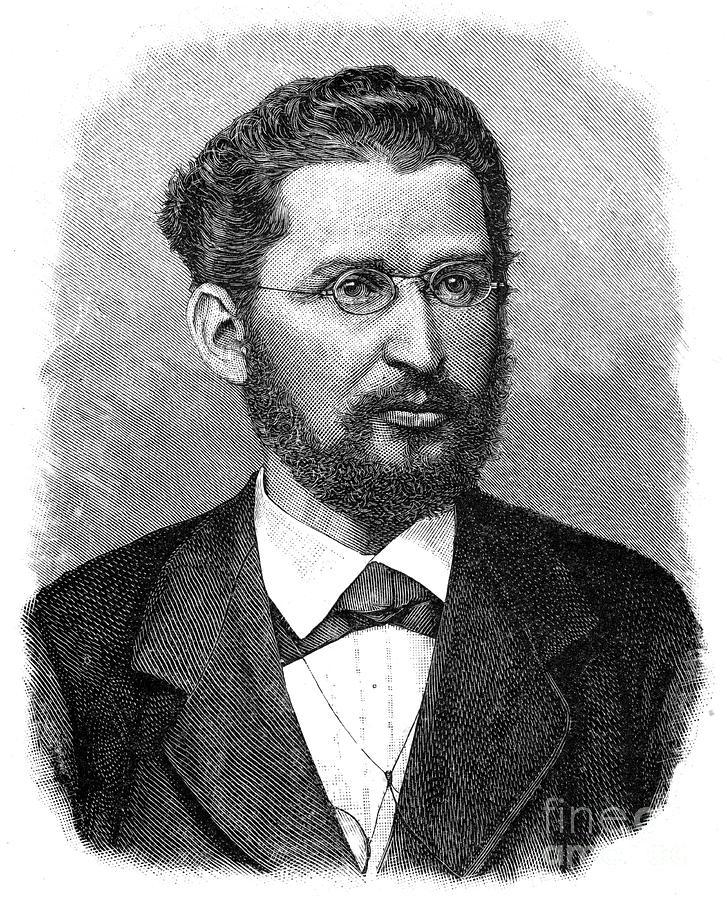 Eduard Bernstein, German Social Drawing by Print Collector