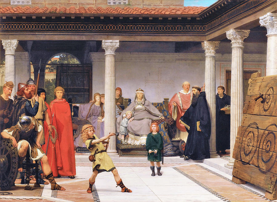 Education of the Children of Clovis - Digital Remastered Edition by Lawrence Alma-Tadema