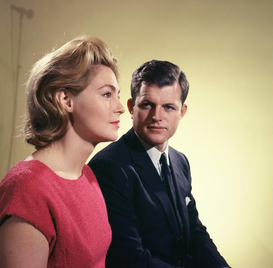 Edward And Joan Kennedy Photograph by Michael Ochs Archives