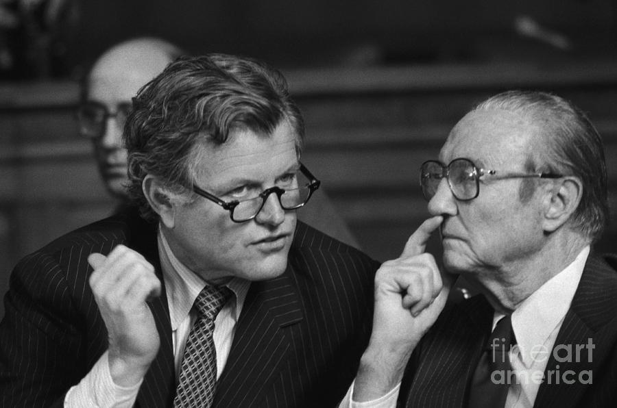 Edward Kennedy And Strom Thurmond Photograph by Bettmann