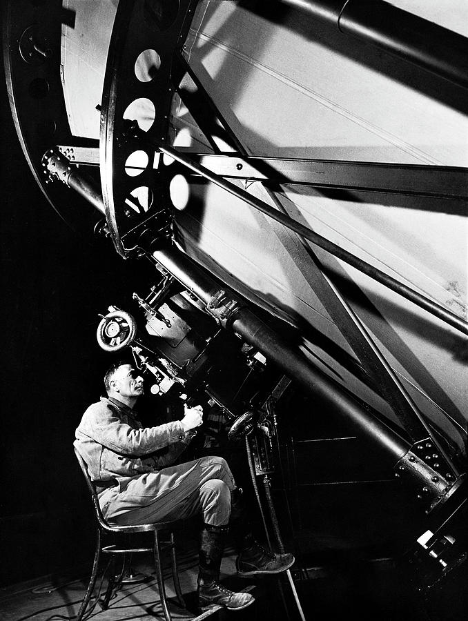 Edwin Powell Hubble Photograph by Margaret Bourke-white