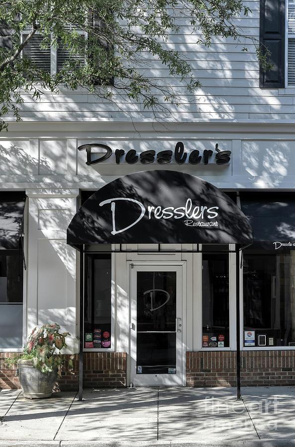 Elegant Dresslers Restaurant  by Amy Dundon