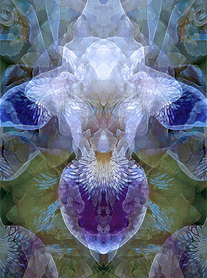 Efflorescence in Blue by Lynda Lehmann