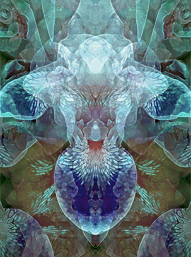 Efflorescence in Turquoise by Lynda Lehmann