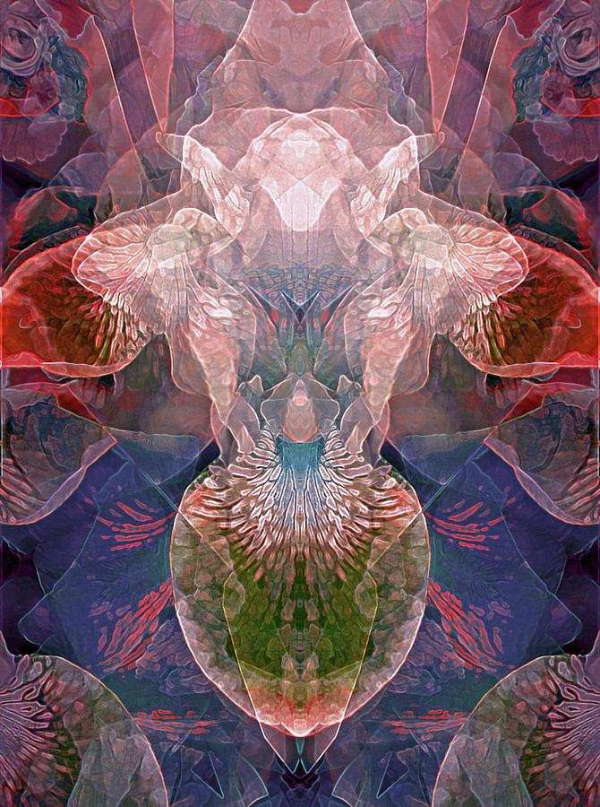 Efflorescence in Violet Tones by Lynda Lehmann