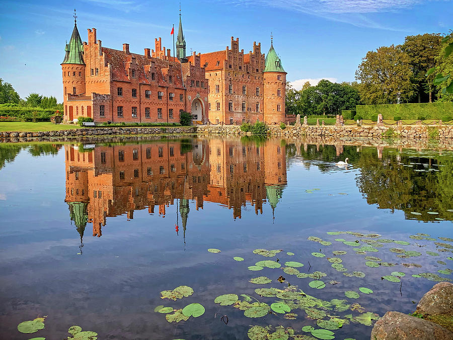 Egeskov Castle - Denmark by Tony Crehan