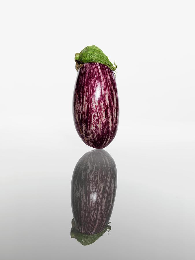 Eggplant Photograph by Kei Uesugi