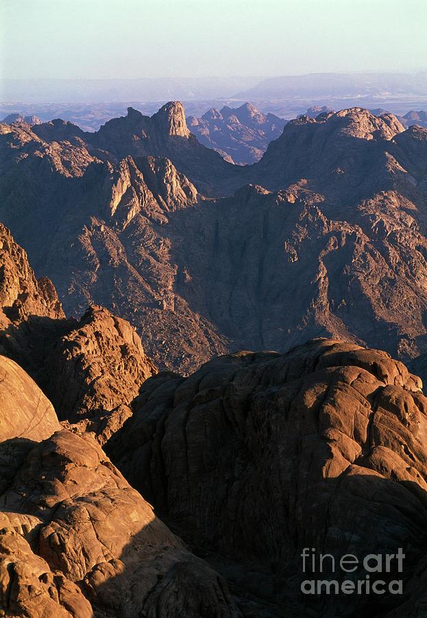 Egypt, Sinai Peninsula, Mountains, View Photograph by Sylvester Adams